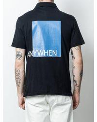 Valentino Black Drawstring Hem Polo Shirt for men