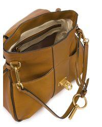Chloé - Brown Lexa Leather Shoulder Bag - Lyst