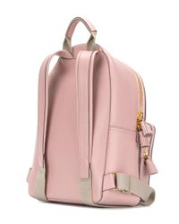 Anya Hindmarch Pink Eyes Mini Backpack