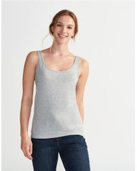 The White Company - Gray Essential Vest - Lyst
