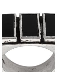 Henson - Multicolor Onyx Triple Ring for Men - Lyst