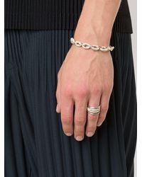 Henson Metallic Horn Links Bracelet
