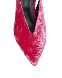 Tibi Pink Lia Slingback