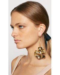 Tibi - Multicolor Paige Novick For Single Floral Sculpture Earring - Lyst
