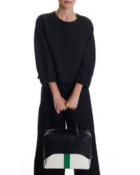 Tibi Black Papa Bag By Myriam Schaefer