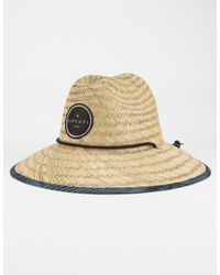 e466ed1ba4f18 Lyst - Rip Curl Paradise Straw Hat in Natural for Men