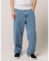 Levi's Blue Basket Mens Baggy Jeans for men