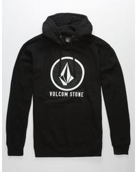 Volcom - Black Stone Mens Hoodie for Men - Lyst