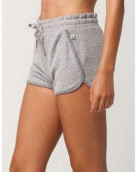 Roxy - Gray Sea Skipper Womens Shorts - Lyst