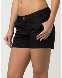 "Volcom Black Frochickie 5"" Womens Shorts"