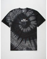 Huf - Black Bar Bird Mens T-shirt for Men - Lyst