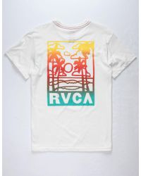 RVCA - White Couple Fun Ones Mens T-shirt for Men - Lyst