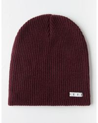 Neff - Red Daily Beanie for Men - Lyst