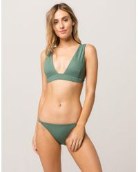 Reef Green Unity Cheeky Bikini Bottoms