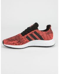Adidas Swift Run Sol Red & Core Black Shoes for men