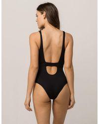 O'neill Sportswear - Black Summer Lovin One-piece - Lyst