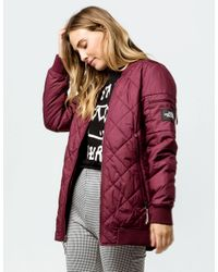 f33baa412 Red Jester Reversible Womens Bomber Jacket