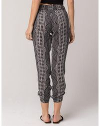 Rip Curl - Black Sands Womens Jogger Pants - Lyst