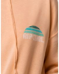 Rip Curl - Multicolor Sunset Cruise Womens Crop Hoodie - Lyst