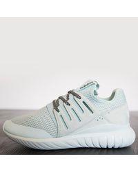 Adidas Multicolor Unisex: Tubular Radial Ice Sneakers