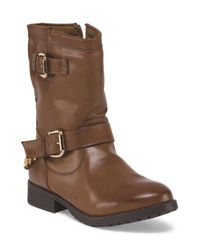 Tj Maxx - Brown Chain Double Buckle Bootie for Men - Lyst