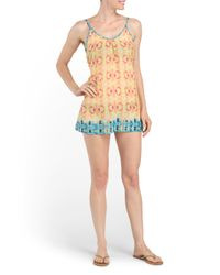 Tj Maxx - Multicolor Printed Cover-up - Lyst