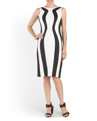 Tj Maxx - Black Bodycon Dress - Lyst