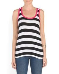 Tj Maxx - Multicolor Made In Usa Racerback Tank - Lyst