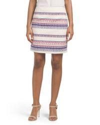 Tj Maxx - White Textured Skirt - Lyst