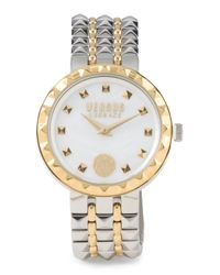 Tj Maxx - Metallic Women's Studded Stainless Steel Watch - Lyst