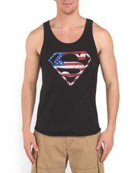 Tj Maxx - Black America Superman Tank for Men - Lyst