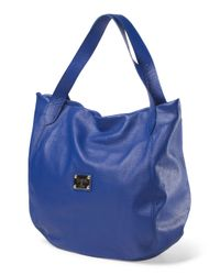 Tj Maxx - Blue Made In Italy Leather Tote - Lyst
