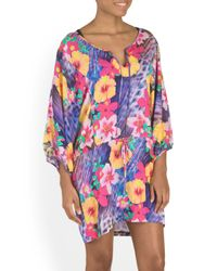 Tj Maxx - Multicolor Playa Tropical Tunic Cover-up - Lyst