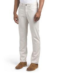 Tj Maxx - Gray Fulton Peached Twill Chino Pant for Men - Lyst