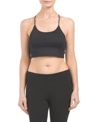 Tj Maxx - Black High Neck Strappy Back Bralette - Lyst