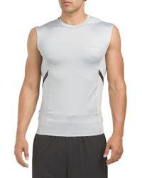 Tj Maxx - Gray Endurance Compression Top for Men - Lyst