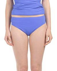 Tj Maxx - Blue Solid Brief - Lyst