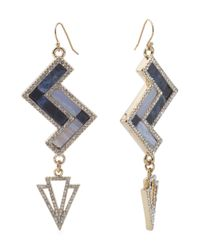Tj Maxx - Blue Made In Usa Semi-precious Stone Revenna Earrings - Lyst
