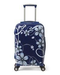Tj Maxx - Blue 21in Floral Hardside Spinner Carry-on - Lyst