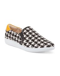 Tj Maxx - Multicolor Leather Twin Gore Slip On Flat for Men - Lyst