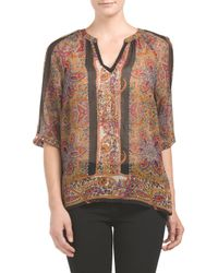 Tj Maxx - Multicolor Tunic With Sequins - Lyst