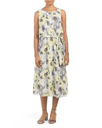 Tj Maxx - Multicolor Sleeveless Printed Dress - Lyst