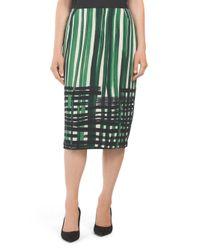Tj Maxx - Green Modern Slim Skirt - Lyst