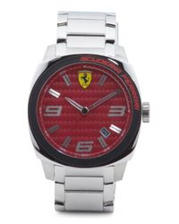 Tj Maxx - Multicolor Men's Aero Evo Red Carbon Fiber Dial Bracelet Watch for Men - Lyst