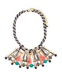 Tj Maxx - Metallic Generra 18k Gold Plated Marble Statement Necklace - Lyst