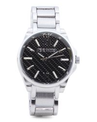 Tj Maxx Metallic Men's Coordinating Set Bracelet Watch And Beaded Bracelet for men