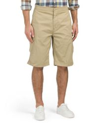Tj Maxx - Natural Stretch Micro Rip Stock Cargo Shorts for Men - Lyst