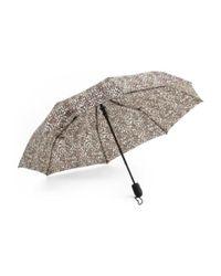 Tj Maxx - Multicolor Mini Auto Open Leopard Print Umbrella - Lyst