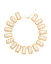 Tj Maxx - Metallic 14k Gold Plated Nadia Collar Necklace - Lyst