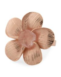 Tj Maxx - Multicolor Made In Bali Rose Plated Sterling Silver Flower Ring - Lyst
